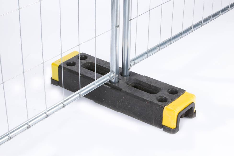 Ox Stand Temporary Fence Stand Oxford Plastics Safety